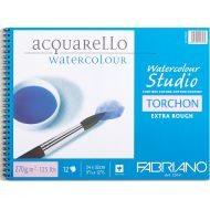 Альбом для акварели Fabriano Watercolour Studio Torchon, 270г/м2, 24x32см, Торшон, спираль,12 л,