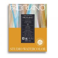 Альбом для акварели Fabriano Watercolour Studio Hot pressed, 200г/м2, 20.3x25.4см, Сатин, склейка 20