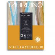 Альбом для акварели Fabriano Watercolour Studio Hot pressed, 200г/м2, 22.9x30.5см, Сатин склейка 20л